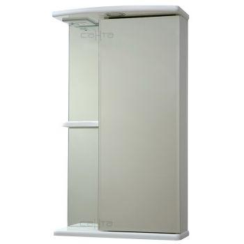 Зеркало-шкаф СанТа Ника 40 фацет свет R