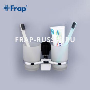 2 стакана для ванной Frap F3308