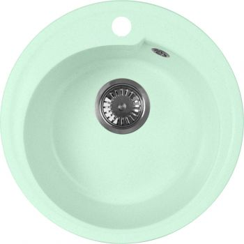 Мойка кухонная AquaGranitEx M-45 салатовая