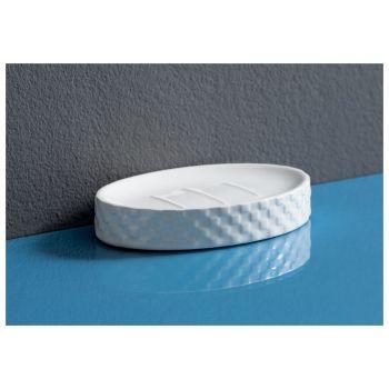 Мыльница для ванной Aquanet CE1604A-SD, белый