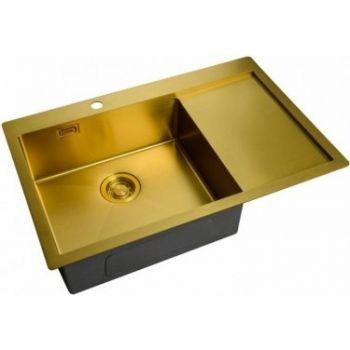 Мойка кухонная Zorg Light ZL R 780510-L BRONZE