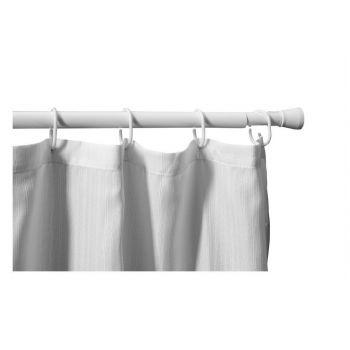 Карниз для ванны Aquanet SR0022B, раздвижной 110-200, гянцевый белый