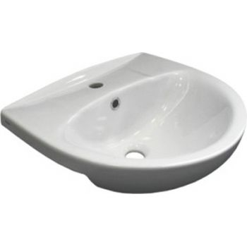 """Умывальник Santek """"Канны"""" 50 см мебельный белый с/о, 1WH110243"""