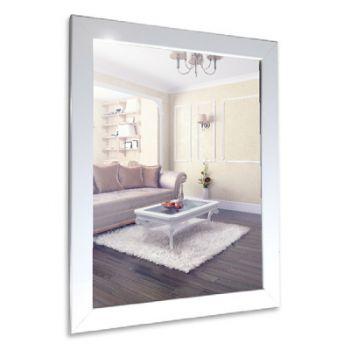 Зеркало MIXLINE Глянец Белый 410*610 ШВ