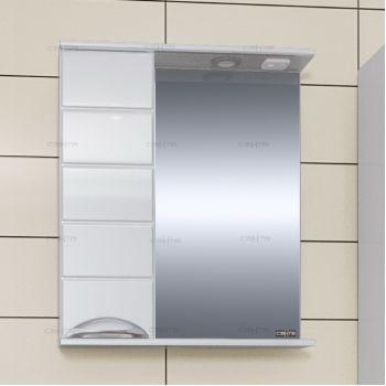 Зеркало-шкаф СанТа Родос 60 L