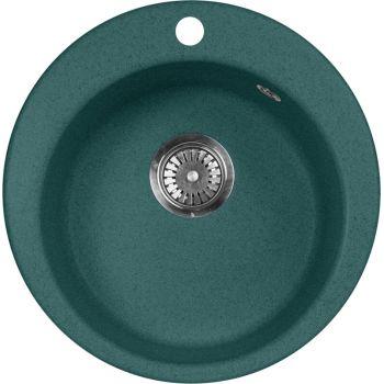 Мойка кухонная AquaGranitEx M-05 зеленая