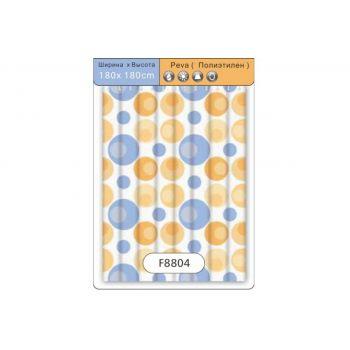 F8804 Шторка для ванны Peva/Полиэтилен 180 см*180 см рисунок