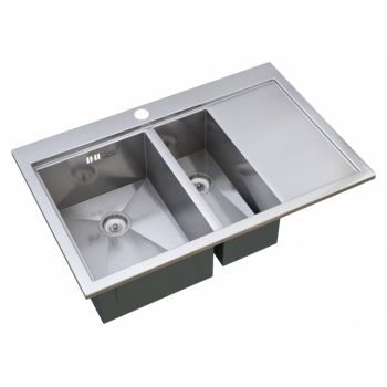 Мойка кухонная Zorg Master X OLIMPIA ZM X-7852-2-L