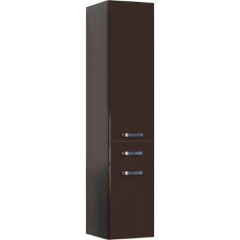 Шкаф-пенал AQUATON Америна тёмно-коричневый …