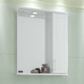 Зеркало-шкаф СанТа Дублин 60 свет R