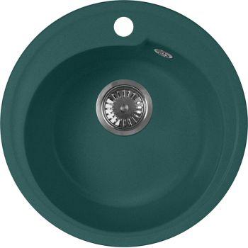 Мойка кухонная AquaGranitEx M-45 зеленая
