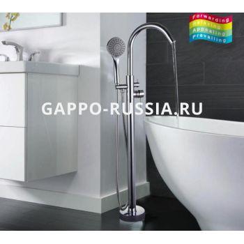 Напольный смеситель для ванны Gappo G3098
