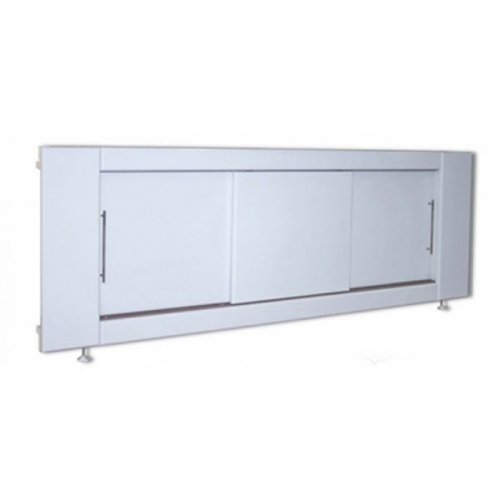 Экран под ванну MIXLINE МДФ купе 1500 мм белый ВИД 1