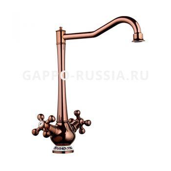 Смеситель для кухни Gappo Tubin G4065-3