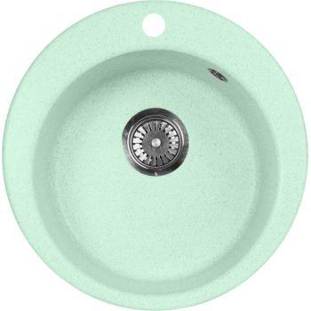 Мойка кухонная AquaGranitEx M-05 салатовая