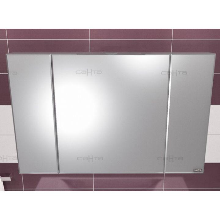 Зеркало-шкаф СанТа Стандарт 120 фацет