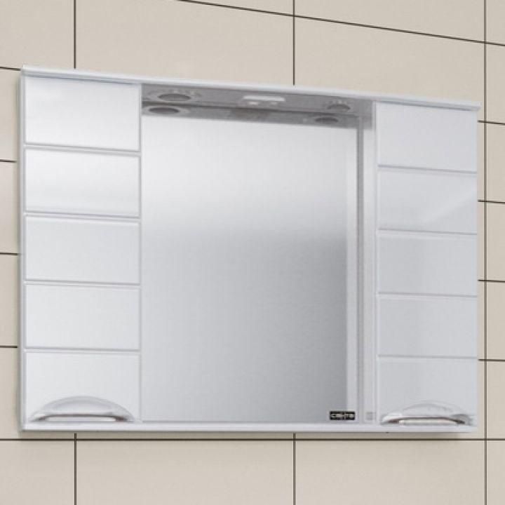 Зеркало-шкаф СанТа Родос 100 свет