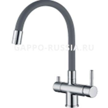 Смеситель для кухни с гибким изливом Gappo G4398-30