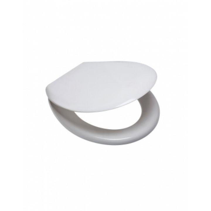 Сиденье для унитаза OPTIM A дюропласт с универ крепл. (Славута,Бриз,Воротынский,,Карина)