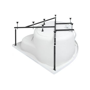 Каркас сварной для акриловой ванны Aquanet Palau 140x140