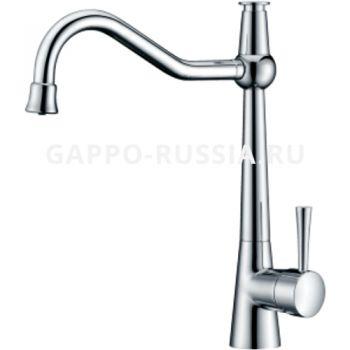 Смеситель для кухни со встроенным фильтром (краном) под питьевую воду Gappo G4398-12