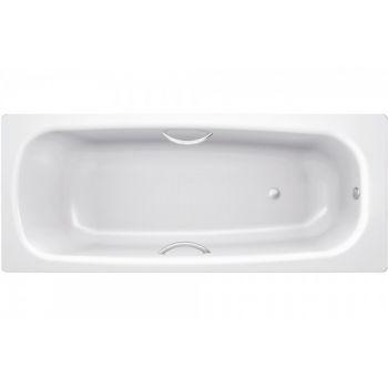 Ванна стальная BLB, Universal HG 170х75 с отверстиями для ручек, без ножек