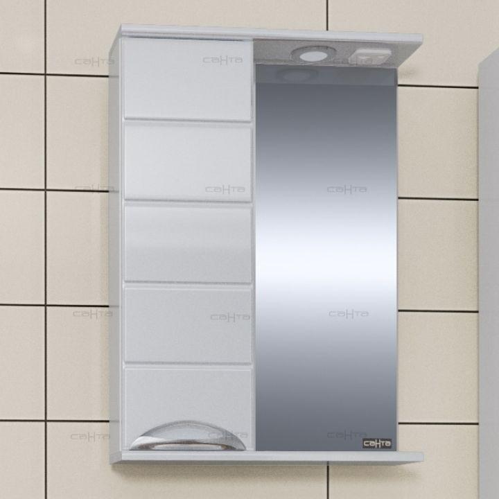 Зеркало-шкаф СанТа Родос 50 L