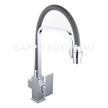 Смеситель для кухни с гибким изливом Gappo G4398-4