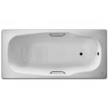 Ванна стальная BLB , ATLANTICA HG 180х80, с отверстиями для ручек, без ножек