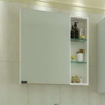 Зеркало-шкаф СанТа Дублин 70 универсальный