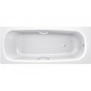 Ванна стальная BLB, Universal HG 150х70 с отверстиями для ручек, без ножек