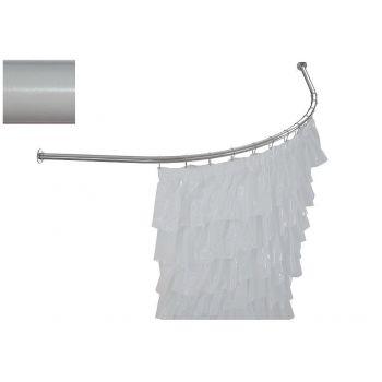Карниз для ванны Aquanet Vitoria полукруглый 130x130 белый
