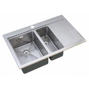 Мойка кухонная Zorg Master R AXIS ZM R-7852-2-L