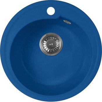 Мойка кухонная AquaGranitEx M-45 синяя