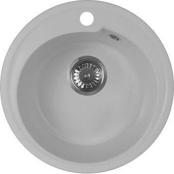 Мойка кухонная AquaGranitEx M-45 серая