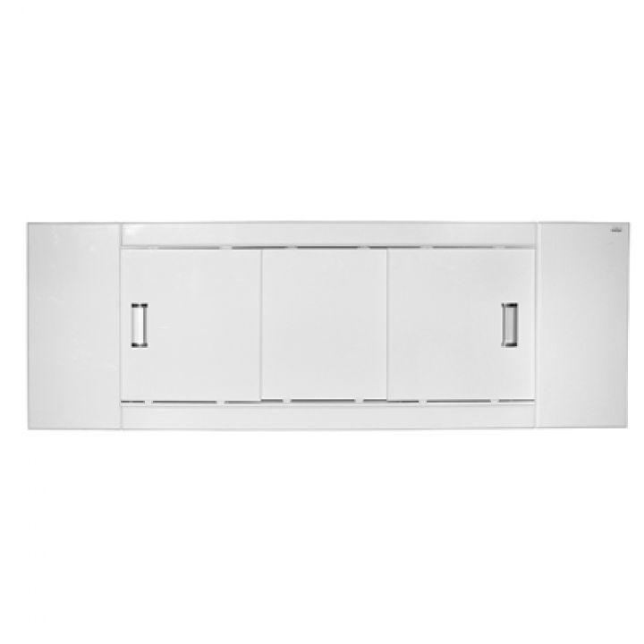 Экран под ванну MIXLINE МДФ купе 1700 мм белый ВИД 3